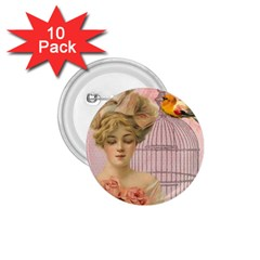 Woman 1079479 1920 1 75  Buttons (10 Pack) by vintage2030