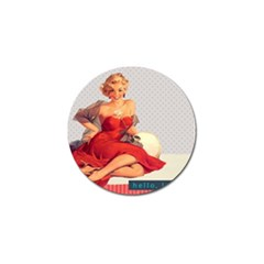 Retro 1107638 1920 Golf Ball Marker (10 Pack) by vintage2030
