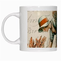 Flapper 1079515 1920 White Mugs by vintage2030