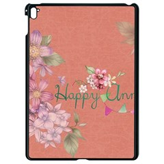 Flower 979466 1280 Apple Ipad Pro 9 7   Black Seamless Case by vintage2030