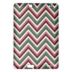 Chevron Blue Pink Amazon Kindle Fire Hd (2013) Hardshell Case by vintage2030