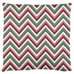Chevron Blue Pink Standard Flano Cushion Case (two Sides) by vintage2030