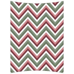 Chevron Blue Pink Back Support Cushion by vintage2030