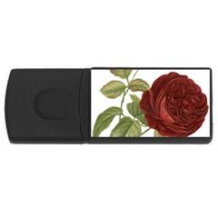 Rose 1077964 1280 Rectangular Usb Flash Drive by vintage2030