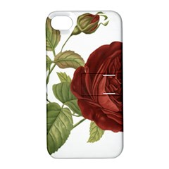 Rose 1077964 1280 Apple Iphone 4/4s Hardshell Case With Stand by vintage2030
