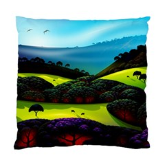 Morning Mist Standard Cushion Case (two Sides) by ValleyDreams