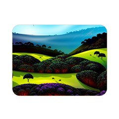 Morning Mist Double Sided Flano Blanket (mini)  by ValleyDreams