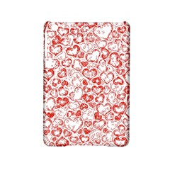 Vivid Hearts, Red Ipad Mini 2 Hardshell Cases by MoreColorsinLife