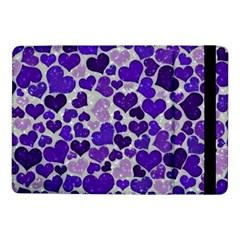 Sparkling Hearts Blue Samsung Galaxy Tab Pro 10 1  Flip Case by MoreColorsinLife