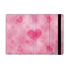 Soft Hearts A Apple Ipad Mini Flip Case by MoreColorsinLife
