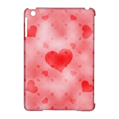 Soft Hearts B Apple Ipad Mini Hardshell Case (compatible With Smart Cover) by MoreColorsinLife