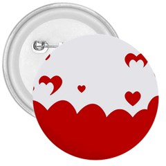Heart Shape Background Love 3  Buttons