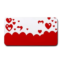 Heart Shape Background Love Medium Bar Mats