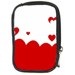 Heart Shape Background Love Compact Camera Cases