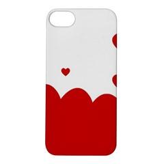 Heart Shape Background Love Apple Iphone 5s/ Se Hardshell Case