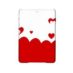 Heart Shape Background Love Ipad Mini 2 Hardshell Cases