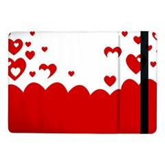 Heart Shape Background Love Samsung Galaxy Tab Pro 10 1  Flip Case by Nexatart