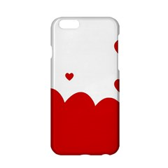 Heart Shape Background Love Apple Iphone 6/6s Hardshell Case by Nexatart