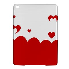 Heart Shape Background Love Ipad Air 2 Hardshell Cases by Nexatart