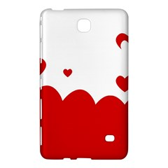 Heart Shape Background Love Samsung Galaxy Tab 4 (8 ) Hardshell Case