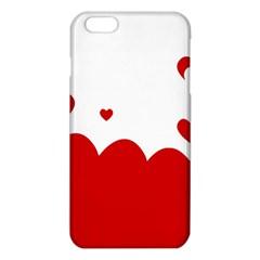 Heart Shape Background Love Iphone 6 Plus/6s Plus Tpu Case