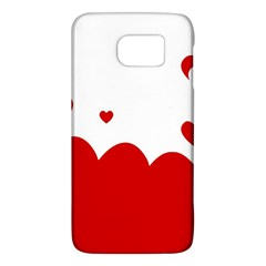 Heart Shape Background Love Galaxy S6