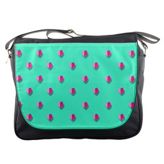 Love Heart Set Seamless Pattern Messenger Bags