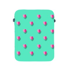 Love Heart Set Seamless Pattern Apple Ipad 2/3/4 Protective Soft Cases