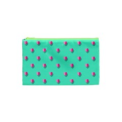 Love Heart Set Seamless Pattern Cosmetic Bag (xs)