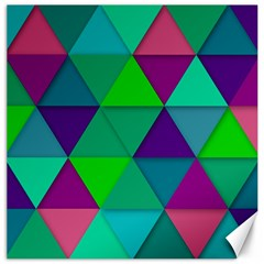 Background Geometric Triangle Canvas 16  X 16