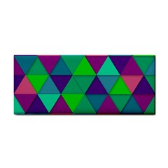 Background Geometric Triangle Cosmetic Storage Cases