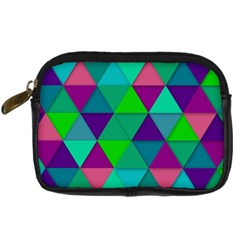 Background Geometric Triangle Digital Camera Cases