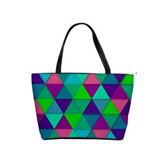 Background Geometric Triangle Shoulder Handbags