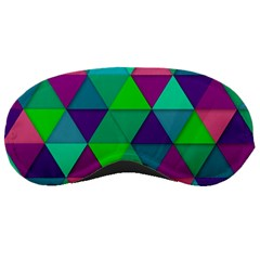 Background Geometric Triangle Sleeping Masks