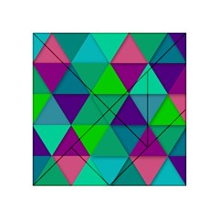 Background Geometric Triangle Acrylic Tangram Puzzle (4  X 4 )