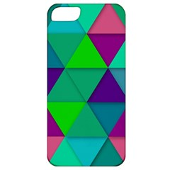 Background Geometric Triangle Apple Iphone 5 Classic Hardshell Case