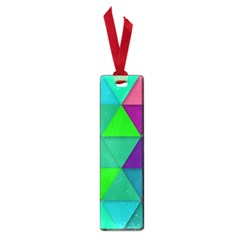 Background Geometric Triangle Small Book Marks