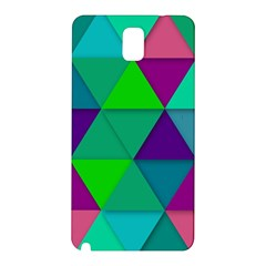 Background Geometric Triangle Samsung Galaxy Note 3 N9005 Hardshell Back Case