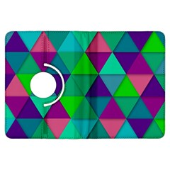 Background Geometric Triangle Kindle Fire Hdx Flip 360 Case