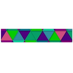 Background Geometric Triangle Large Flano Scarf
