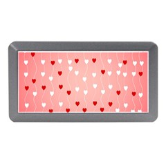 Heart Shape Background Love Memory Card Reader (mini)