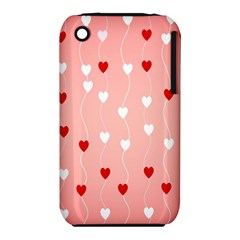 Heart Shape Background Love Iphone 3s/3gs