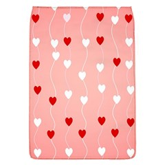 Heart Shape Background Love Flap Covers (s)