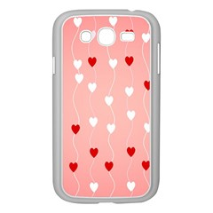 Heart Shape Background Love Samsung Galaxy Grand Duos I9082 Case (white)