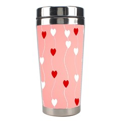 Heart Shape Background Love Stainless Steel Travel Tumblers