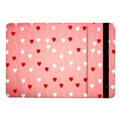 Heart Shape Background Love Samsung Galaxy Tab Pro 10 1  Flip Case