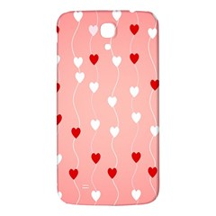 Heart Shape Background Love Samsung Galaxy Mega I9200 Hardshell Back Case