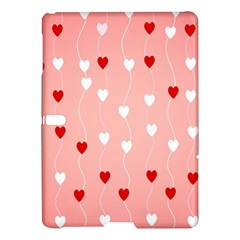 Heart Shape Background Love Samsung Galaxy Tab S (10 5 ) Hardshell Case