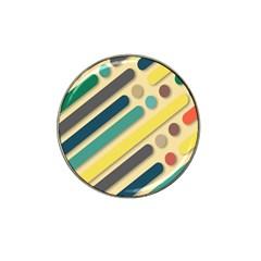 Background Vintage Desktop Color Hat Clip Ball Marker (10 Pack)