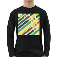 Background Vintage Desktop Color Long Sleeve Dark T Shirts